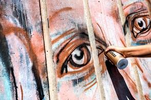 Vægmaleri: Street Art-superstjerner gæster Aalborg