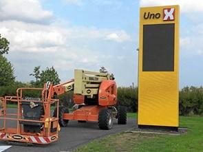 UNO X på Loftbrovej er midlertidigt lukket