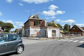 Farvel til købmandsbygning i Koldby