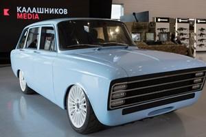 Våbenproducenten Kalashnikov udvikler eget koncept for en elektrisk superbil, der skal konkurrere med Tesla.