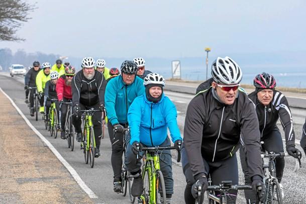 Sårbare veteraner cykler Danmark rundt