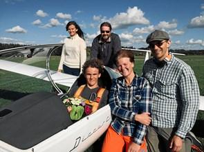 Johannes er Danmarks yngste pilot