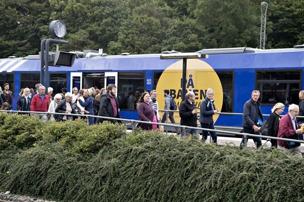 Et år med NJ: 110.000 flere nordjyder tager toget