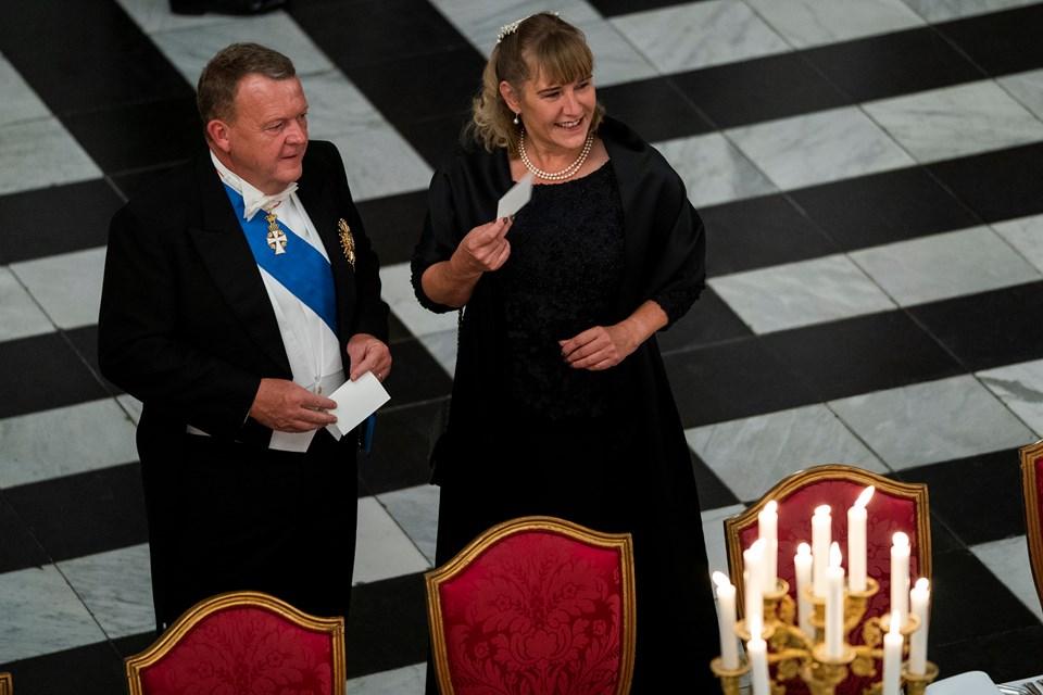 Lars og Solrun Løkke Ramussen. Foto: Martin Sylvest/Scanpix Ritzau