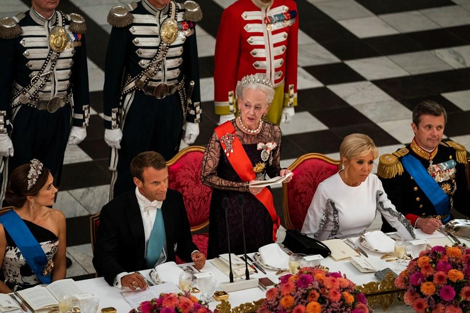 Dronning Margrethe holder tale. Foto: Martin Sylvest/Scanpix Ritzau