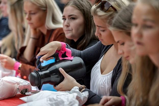 Morgenkaffen for de nye studerende er en årelang tradition. Arkivfoto: Nicolas Cho Meier
