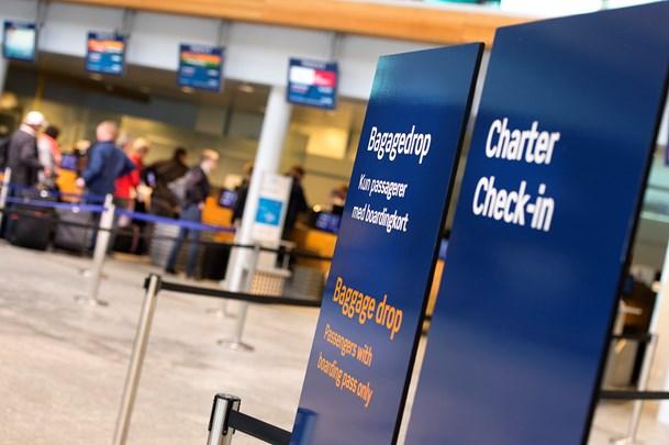 Supersommer i lufthavnen