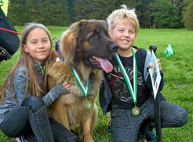 Løb og hygge for hele familien - også de firbenede... Foto: Privat