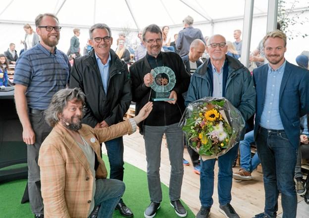 Sidste års vindere af Bæredygtighedsprisen – Himmerland Boligforening. Privatfoto