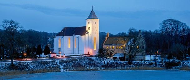 Julekoncert optages i kirken i Mariager med kommunal støtte