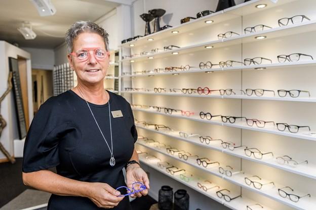 Den nye optiker har været i branchen siden 1979.