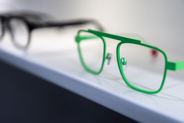 De grønne briller er en af Berit Overvads favoritter.