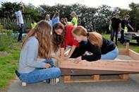 Elever på Arden Skole var håndværkere for en dag