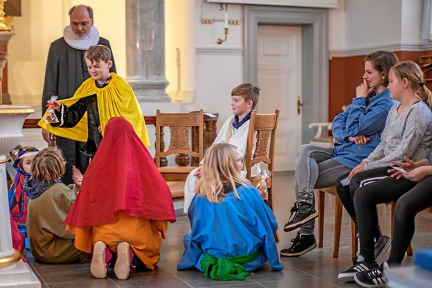 Børnene skal føle, at kirkens budskab bliver formidlet på deres præmisser. Privatfoto.