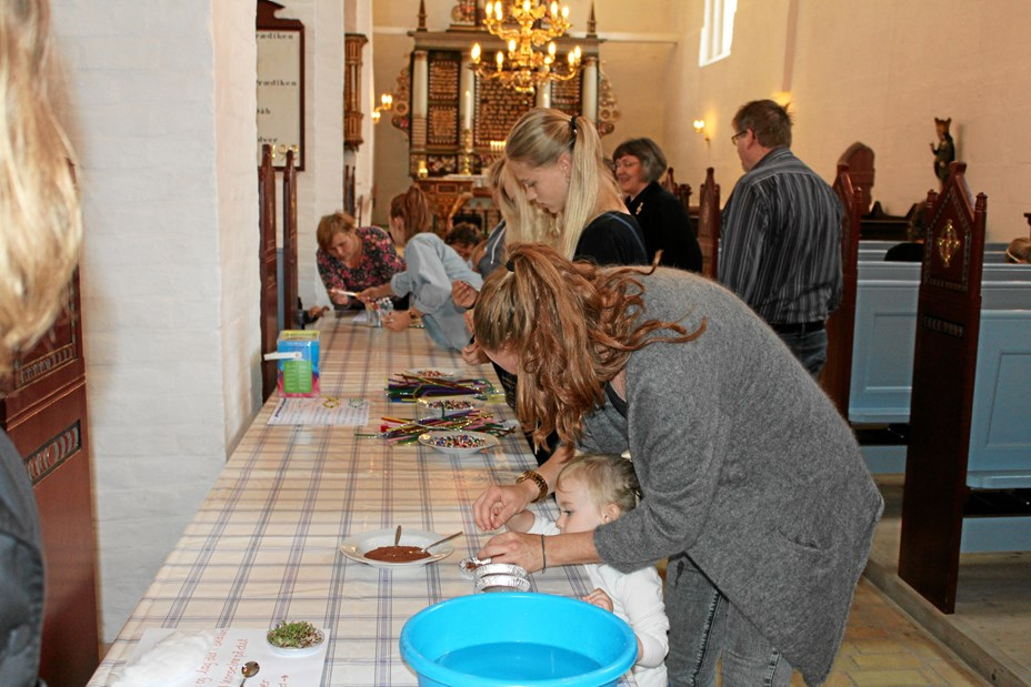 Børnegudstjenester i Vrejlev Kirke året ud
