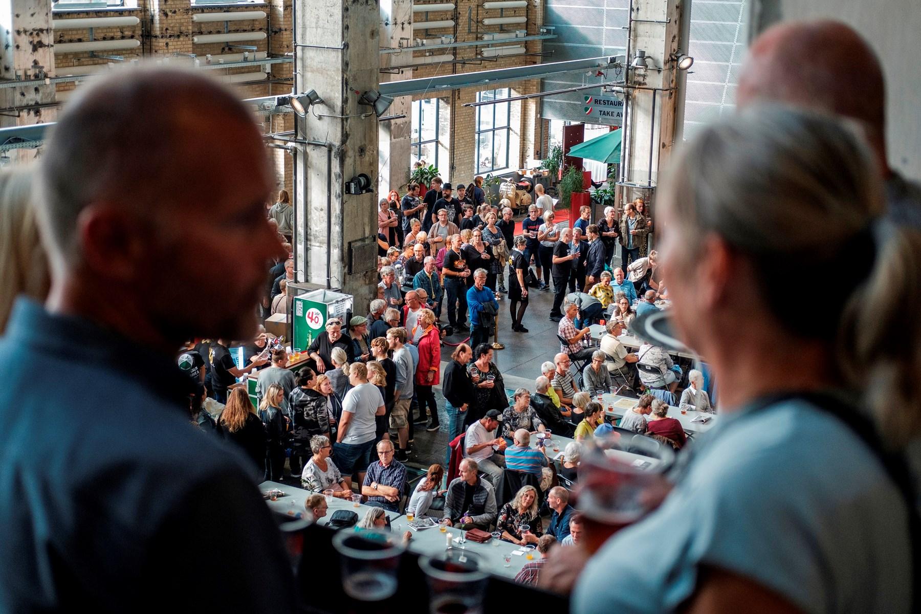 Skråen fester for hele byen: Se billederne her