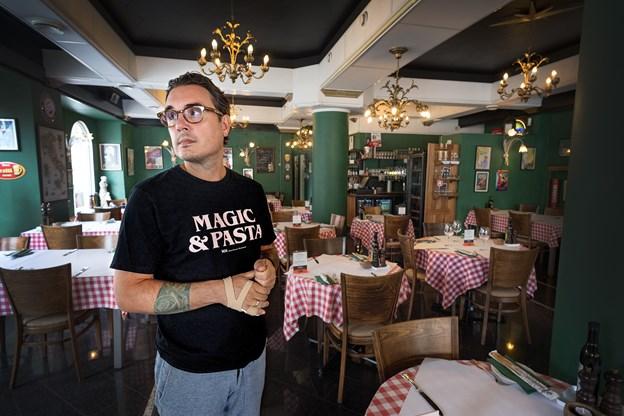 Hjørnerestauranten er i dag vendt tilbage til udgangspunktet og serverer klassiske italienske retter.