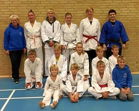 Medaljer til judoklub