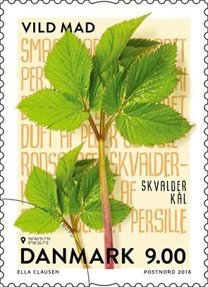 Vild mad på frimærke