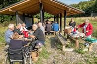 Faglige Seniorer på udflugt i Slotved Skov
