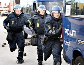 Kampklædt politi indtager Jammerbugt