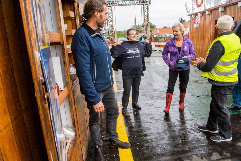 Lone Lærke Krog og Søren Kjær og Diana Holm (foto)
