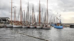 Se billederne: 71 træskibe overnattede i Løgstør