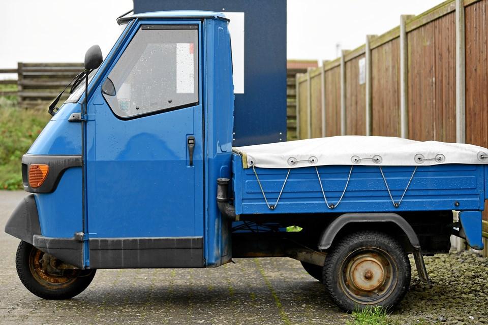 Det er ejeren af dette køretøj, som Thisted Politi gerne vil i forbindelse med.Privatfoto