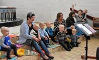 Syng Sammen dag for de små børn i Vrejlev