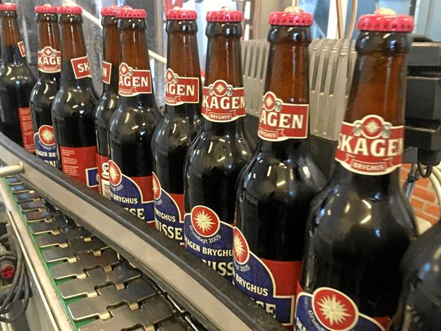 De er glade for nissenavne på Skagen Bryghus, hvor man er i fuld gang med at brygge øl med navne somKlitnisse, Gårdnisse og Skovnisse.