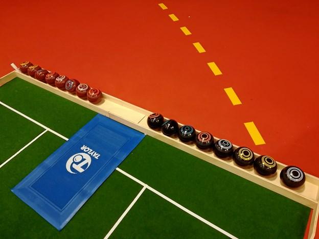 Bowls er en ny aktivitet i Ældre Sagen. Privatfoto