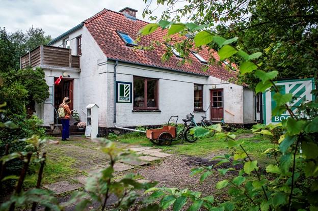 Villaen på Jyllandsgade 11 har huset Bogby-butikken i tre år, men nu har ejeren opsagt lejemålet. Arkivfoto: Martin Damgård