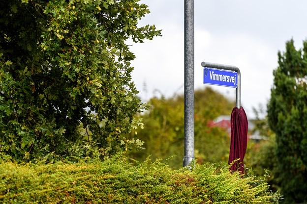 Torsdag eftermiddag fik Thisted Kommune et nyt vejnavn. Og det hele efter alle regler.Foto: Nicolas Cho Meier