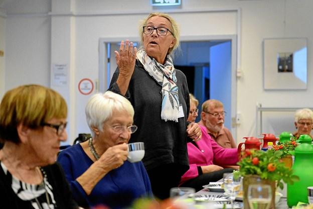 Der var et fint fremmøde til Teaterkredsens generalforsamling. Foto: Niels Reiter