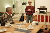Hyggeeftermiddag med Vagn Olsen foredrag