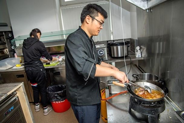 Yuechong er rykket til Arentsminde   for sin restaurant
