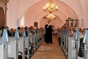 Stor opbakning til morgensang i Vilsted Kirke