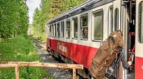 2500 km med tog gennem Norge og Sverige