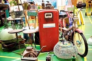 Vintagemarked klar til åbning: Se de mange skatte her