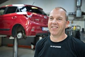 Værkfører fra Rørbæk Biler i Hjørring til VM i Korea
