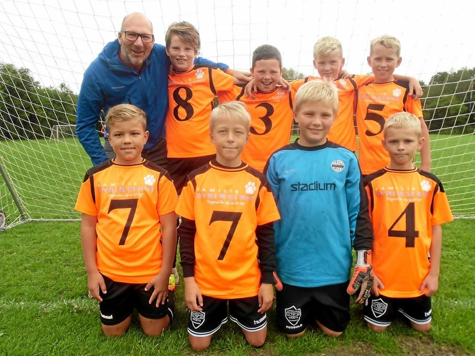 Fodbolddrenge med ny sponsor