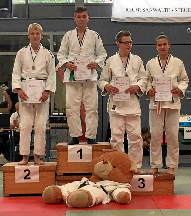 Judokæmpere til stævne i Tyskland