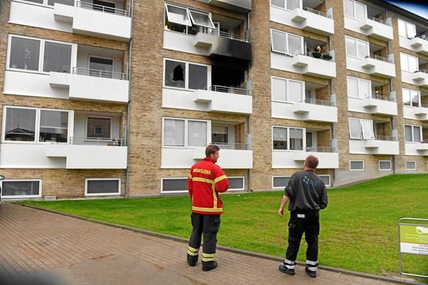 Satte ild til sin lejlighed: Bragte andres liv i fare
