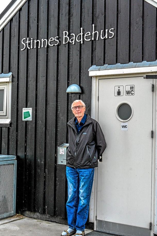 Niels vendte tilbage til badehus og barndomsby