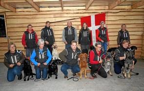 11 hundeførere fra Hjørring til DM