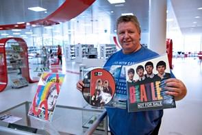Han købte sin første Beatles-single som ni-årig
