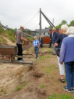 Frivillige på tur til Midtjylland