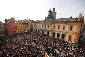 Retssagen mod en kulturprofil, der er central i skandale i Det Svenske Akademi, er begyndt onsdag.