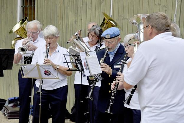 Medlemmerne af orkestret nyder både musikken og at være sammen.Foto: Bente Poder