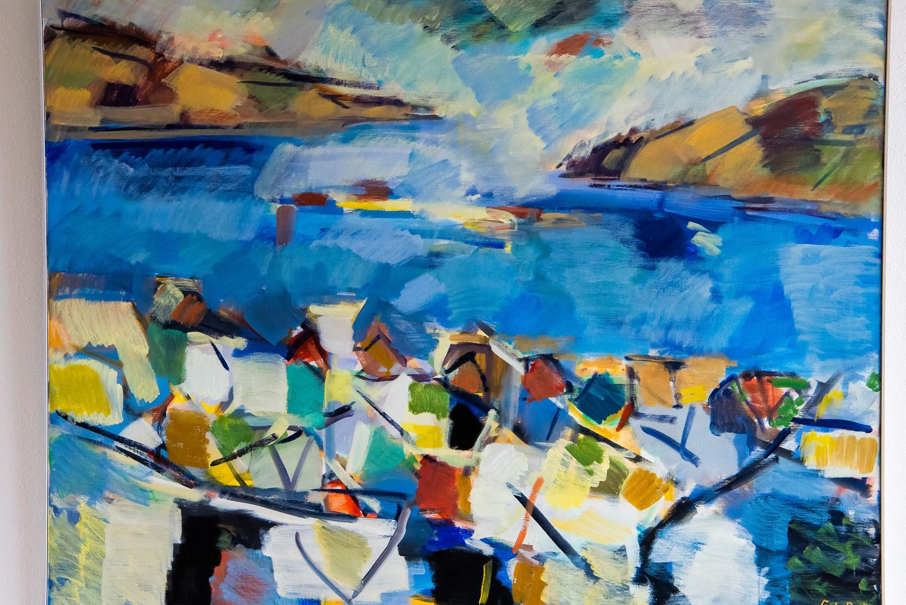 Kraftfuld færøsk kunst i Thy